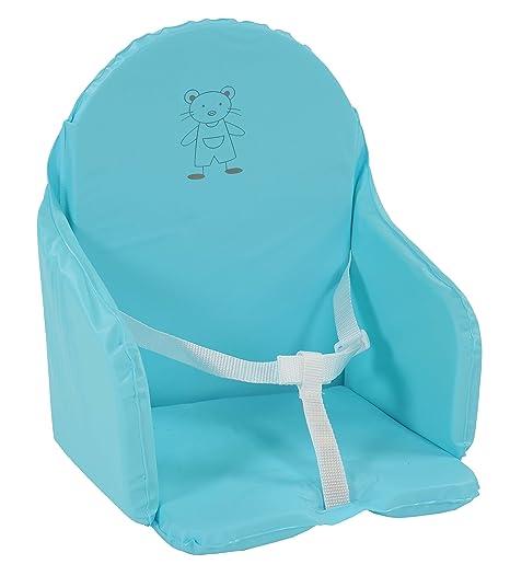 Looping - Cojín para asiento con correas Multicolor Bleu lagon