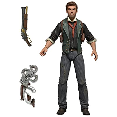 "NECA Bioshock Infinite - Booker DeWitt - 7"" Action Figure: Toys & Games"