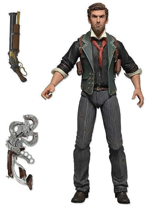 NECA Bioshock Infinite - Booker DeWitt - 7u0026quot; Action Figure  sc 1 st  Amazon.com & Amazon.com: NECA Bioshock Infinite - Booker DeWitt - 7
