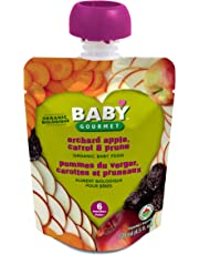 Baby Gourmet Orchard Apple Carrot and Prune, 12-Pack
