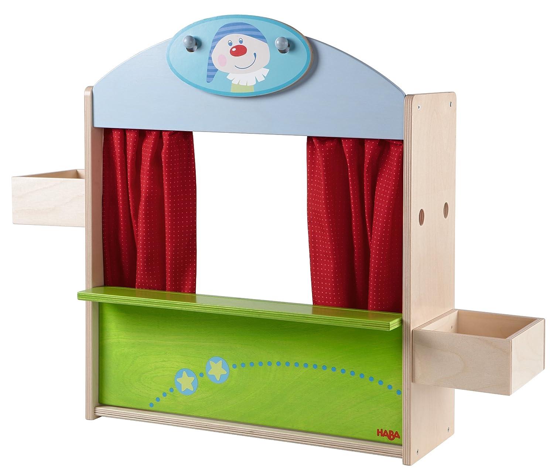 Kaufladen und Puppentheater 2 in 1 - Haba Kaufladen + Puppentheater