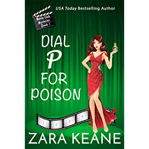 Dial P For Poison (Movie Club Mysteries, Book 1): An Irish Cozy Mystery