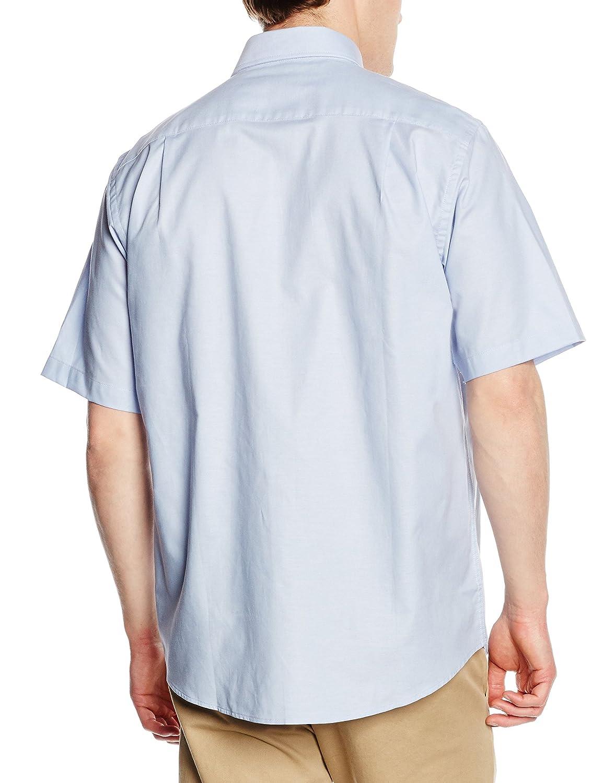 Fruit Of The Loom Mens Short Sleeve Oxford Shirt