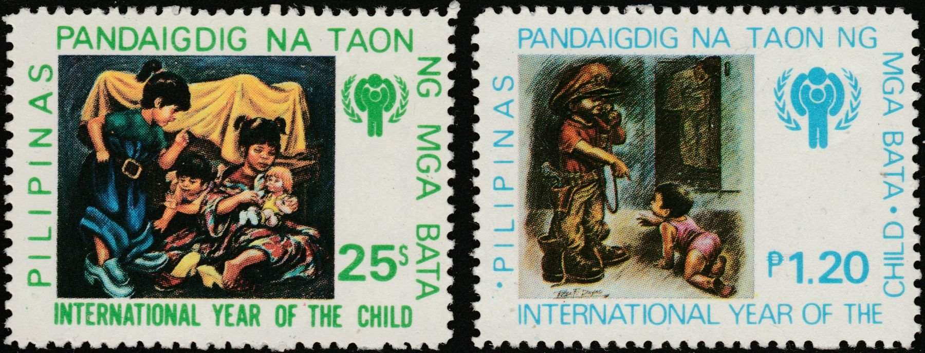 1979 Philippines International Year of the Child Postage Stamps