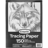 """Crayola Tracing Paper 8 1/2"""" X 11"""", Great for Light Up Tracing Pad, Gift, 150Count"""