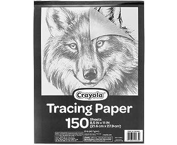 Crayola 150-Sheets Tracing Paper