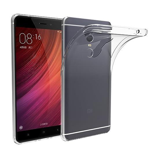 36 opinioni per Xiaomi Redmi Note 4 Custodia, iVoler® Soft TPU Silicone Case Cover Bumper