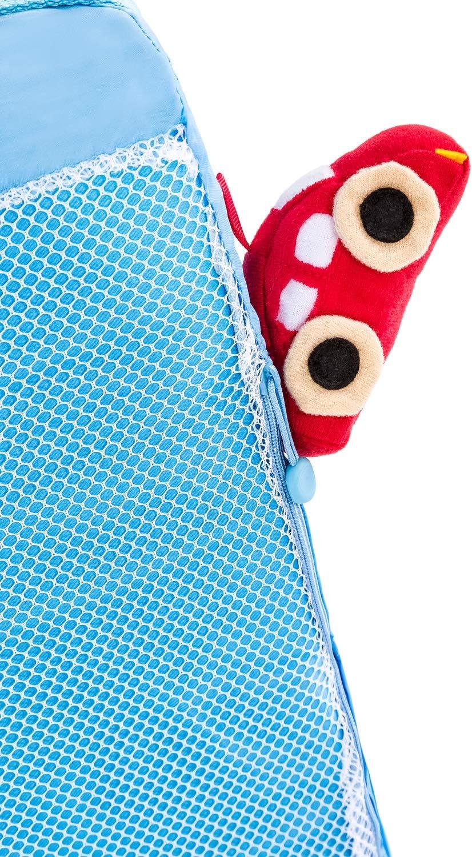 bleu Mat/ériaux Respirants et Lavables /Épaisseur 6 cm Hauck Sleeper Matelas Pliant en 3 Parties Matelas pour Lit Parapluie 120 x 60 cm Sac de Transport Inclus