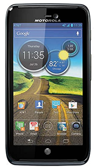 amazon com motorola atrix hd android phone black at t cell rh amazon com Motorola Atrix HD Battery Life Motorola Droid Atrix