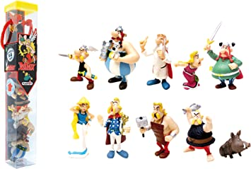 Astérix tubo 7 figurines Characters 2,5-9,5 cm