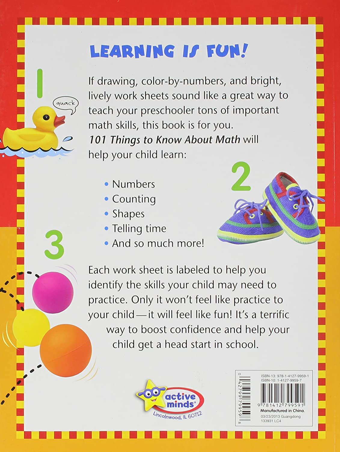 Amazon.com: PS 101 Things to Know About Math (9781412799591): Publications  International: Books