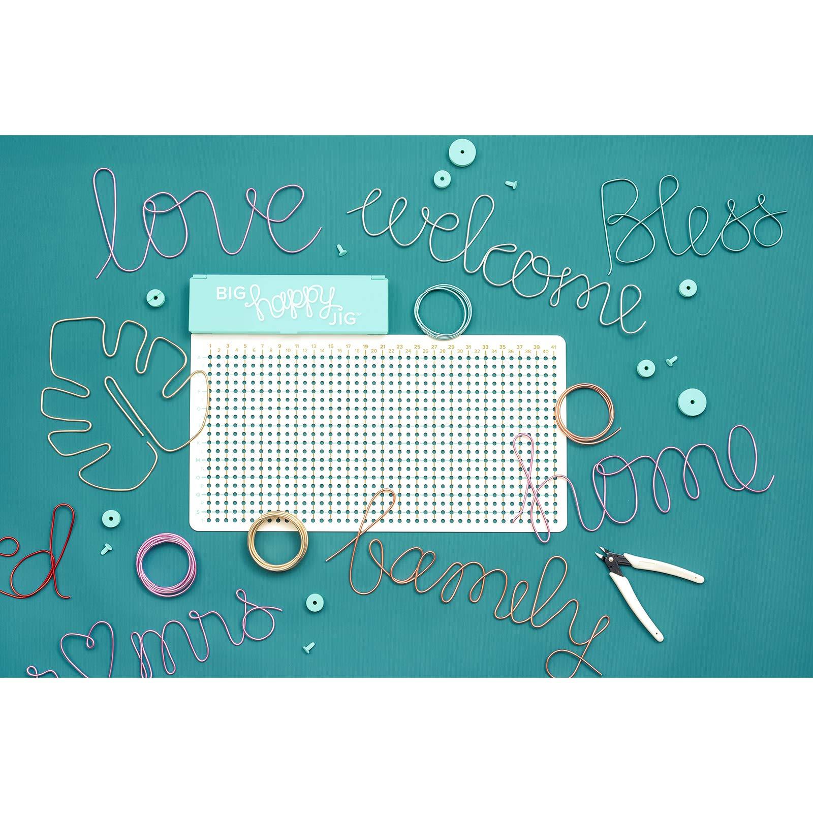 We R Memory Keepers Happy Jig Wire /& Peg Kit
