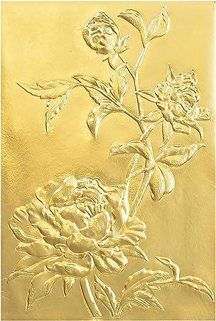 Sizzix 3D Texture Fades Embossing Folder By Tim Holtz-Botanical