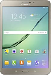 "Samsung SM-T719NZDEITV Galaxy Tab S2 Tablet, Display da 8.0"", Processore da 1.8 GHz, RAM 3 GB, HDD 32 GB, Oro [Versione Italiana]"