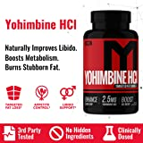 MTS Nutrition Yohimbine HCL - Natural Yohimbe Fat