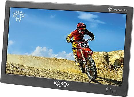 Xoro - Televisor portátil PTL 1050, 25,6 cm (10,1 Pulgadas), DVB-T/T2: Amazon.es: Electrónica