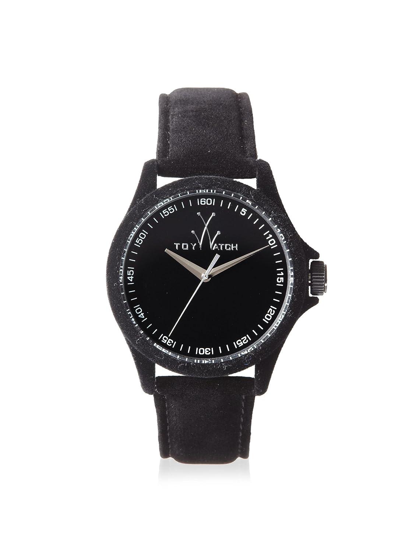 ToyWatch Women s PE01BK Sartorial Only Time Black Velvet Watch