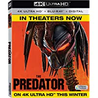The Predator (2018)  (4K UHD + Blu-ray + Digital)