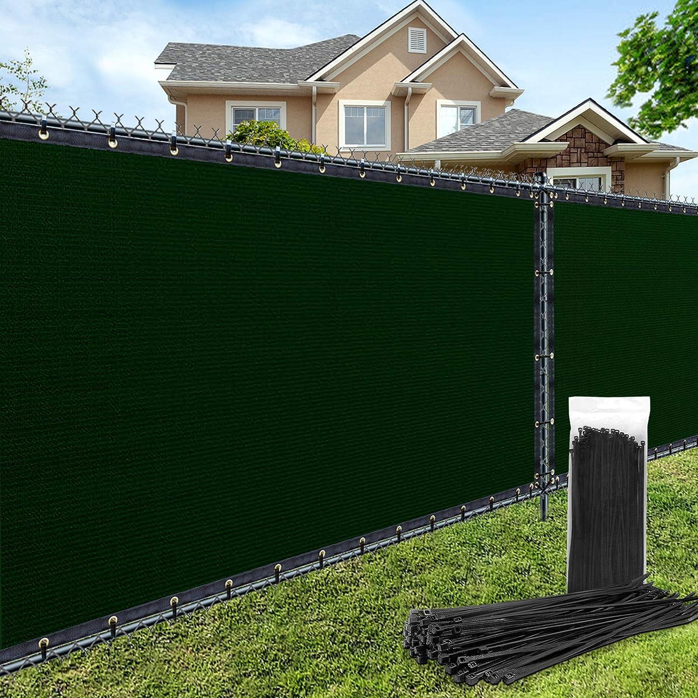 For Porch Deck Backyard 160 g//m/² 0.5x3.5m blue Fence Windscreen Outdoor Patio Porch Deck Garden Outdoor Protection Windshield Privacy Screen Garden