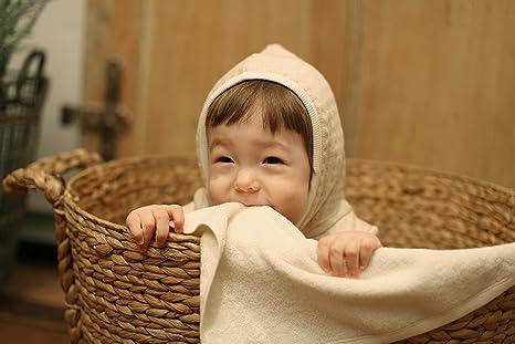 Buy [Organic Shop] 100% Organic Cotton Baby Bath Towel 1-Pack Online ...