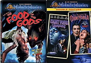 MGM Midnite Movies The Food of the Gods & Count Yorga Vampire / The Return of Count Yorga DF 3-Movie Bundle