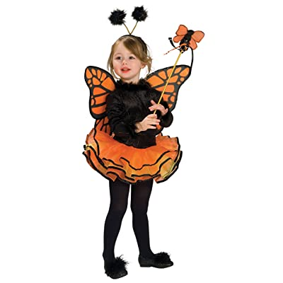 Rubie's Child's Costume, Orange Butterfly Costume-Small: Toys & Games
