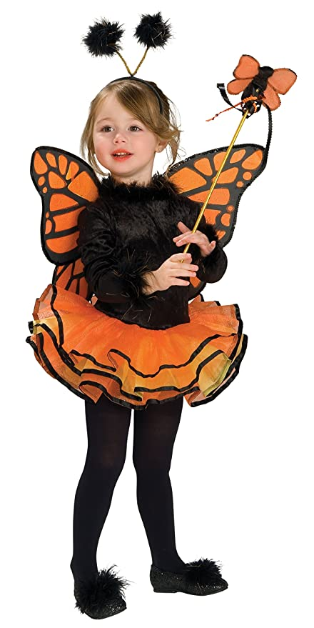 Orange Butterfly Costume-Small