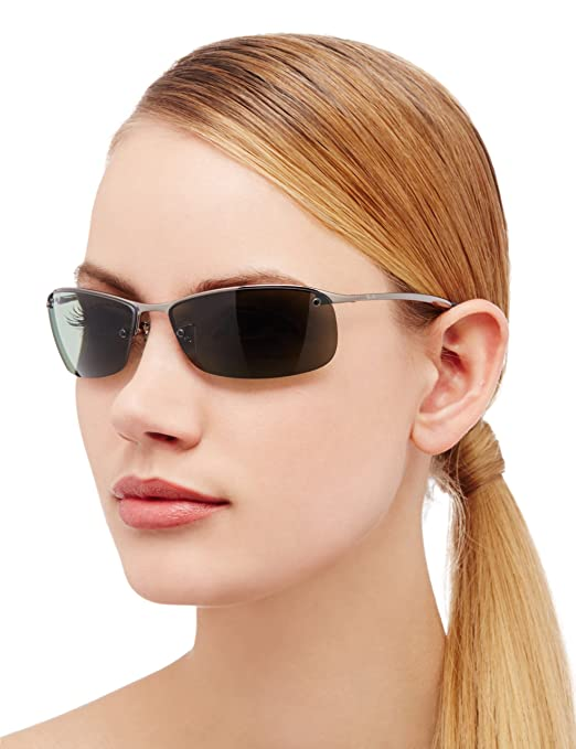 Ray Ban RB3183   GUNMETAL Frame POLAR GREEN Lenses 63mm Polarized:  Amazon.com.au: Fashion