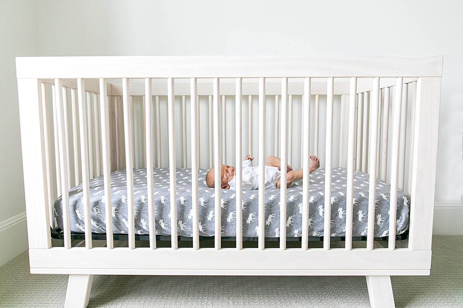 Copper Pearl Premium Fitted Knit Crib Sheet//Toddler SheetScout