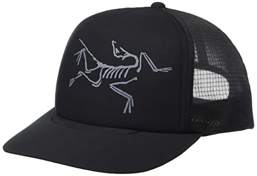 Amazon.com  Arc teryx Bird Trucker Hat (Black)   Clothing d22b34a809a0