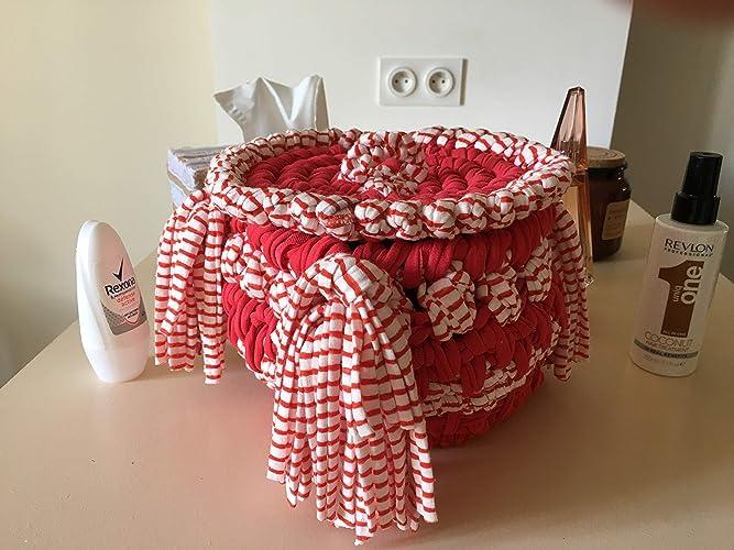 facc7ce52644 Corbeille Panier Artisanal de Rangements (bébé) Décoration Cadeaux de Noel pour  Femme Panier de