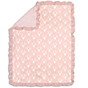 Woodland Whimsy Floral Cotton Blanket by The Peanut Shell