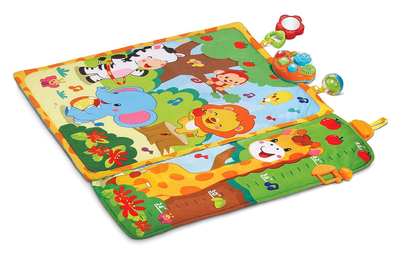Amazon Vtech Giggle Grow Jungle Playmat Toys Games