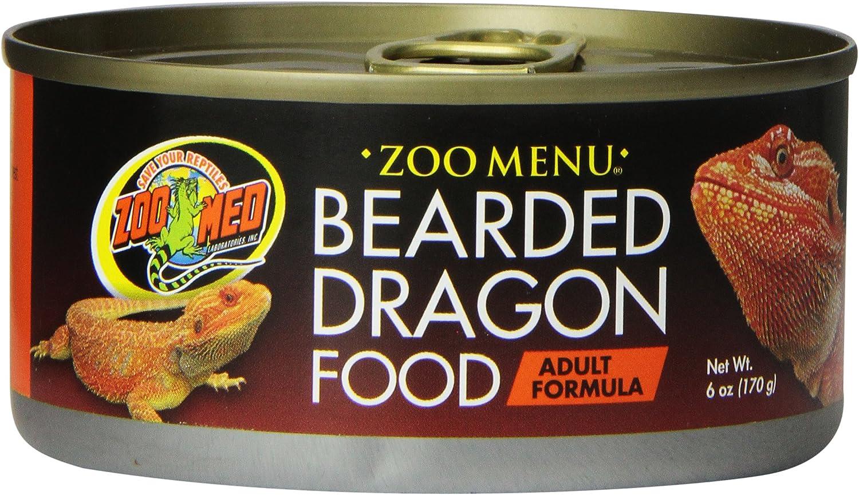 Zoo Med Bearded Dragon Adult Wet Food, 6-Ounce
