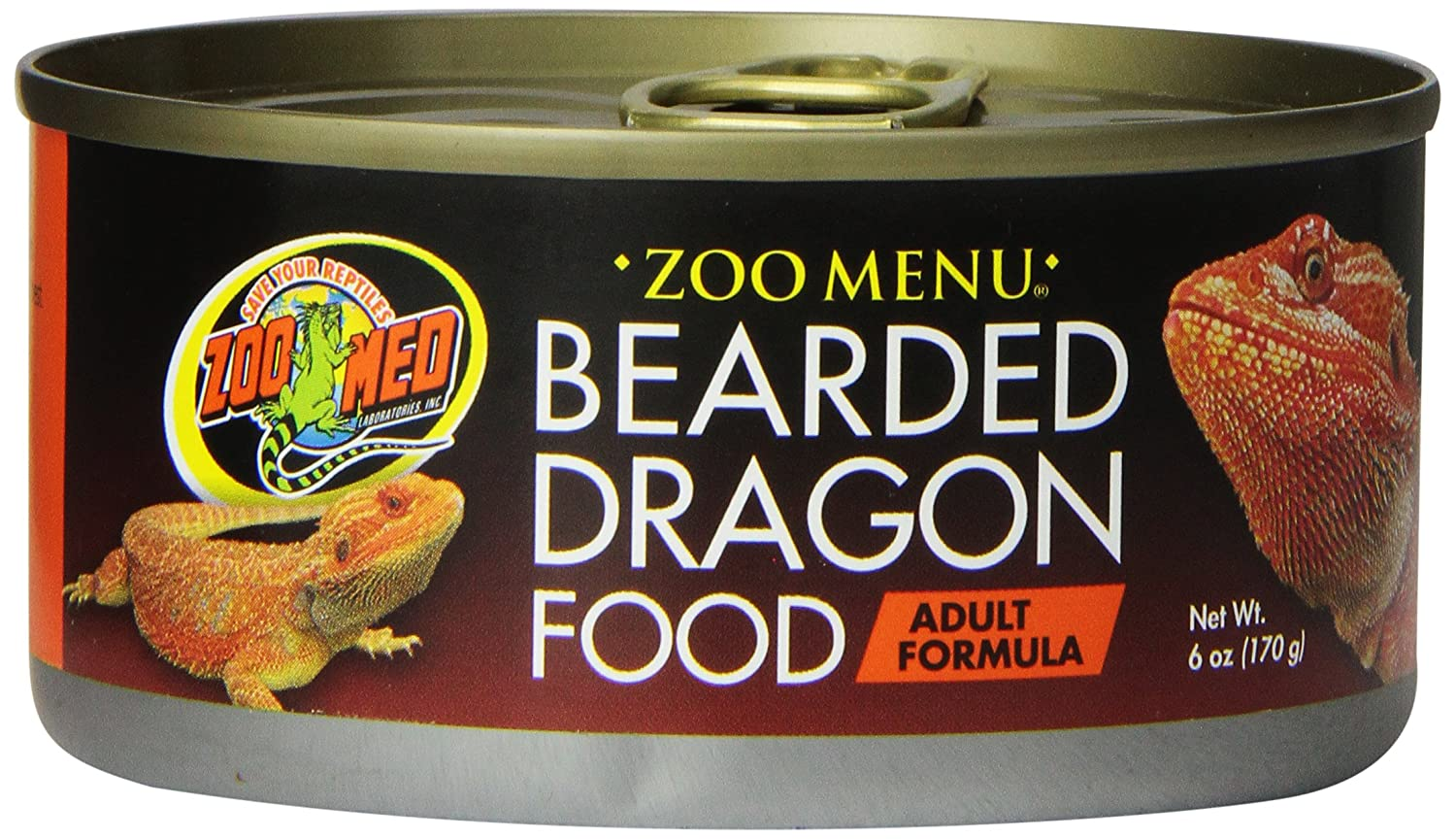 Zoo Med Bearded Dragon Adult Wet Food, 6-Ounce ZM72