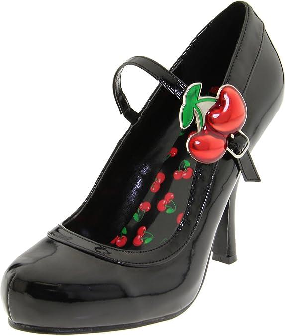 TALLA 39 EU. Pleaser Cutie10/Bpt, Zapatos de Tacón para Mujer