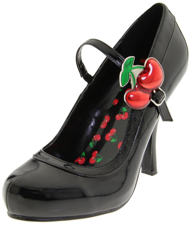 Pleaser Cutie10/Bpt - Zapatos de Tacón Mujer 37 EU|Negro (Black)