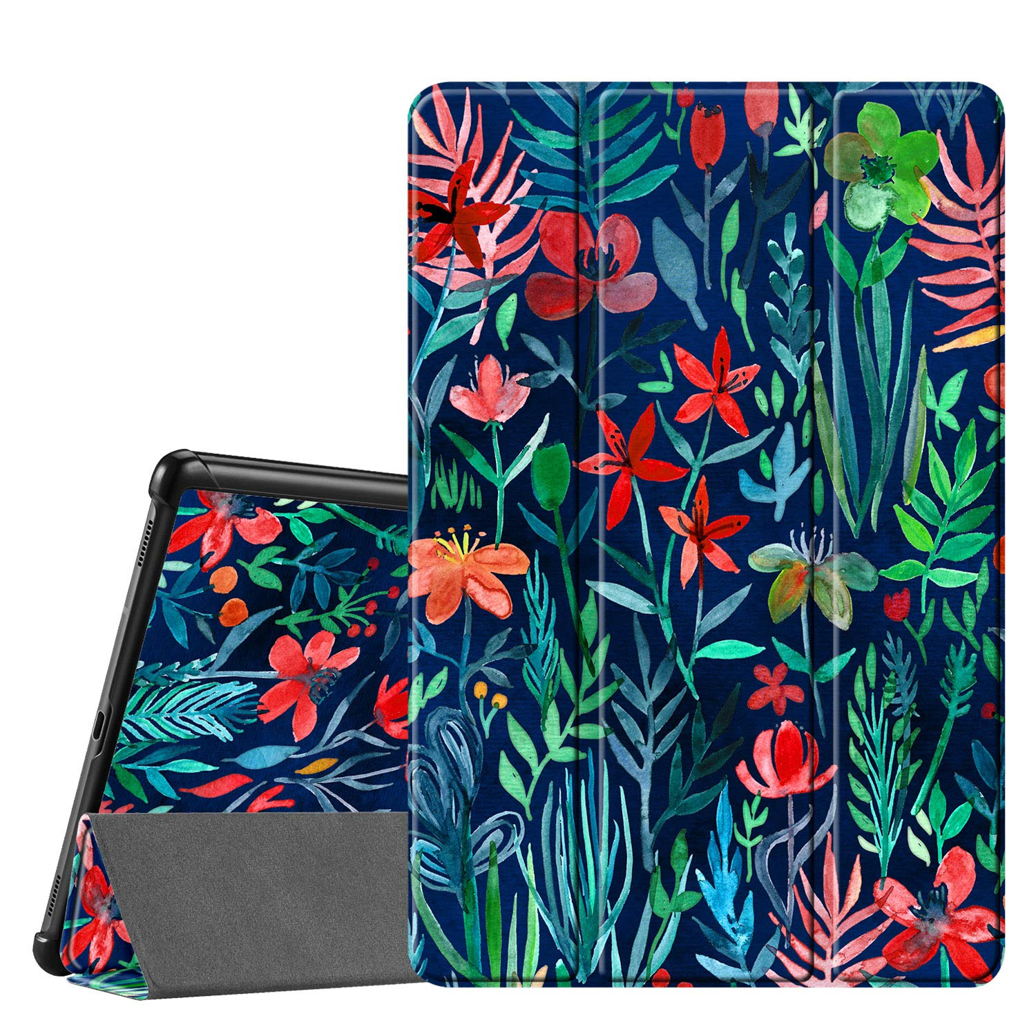 FINTIE SlimShell Case for Samsung Galaxy Tab S5e 10.5 2019 Model SM-T720 Denim Charcoal T725 Super Thin Lightweight Stand Cover with Auto Sleep//Wake Feature