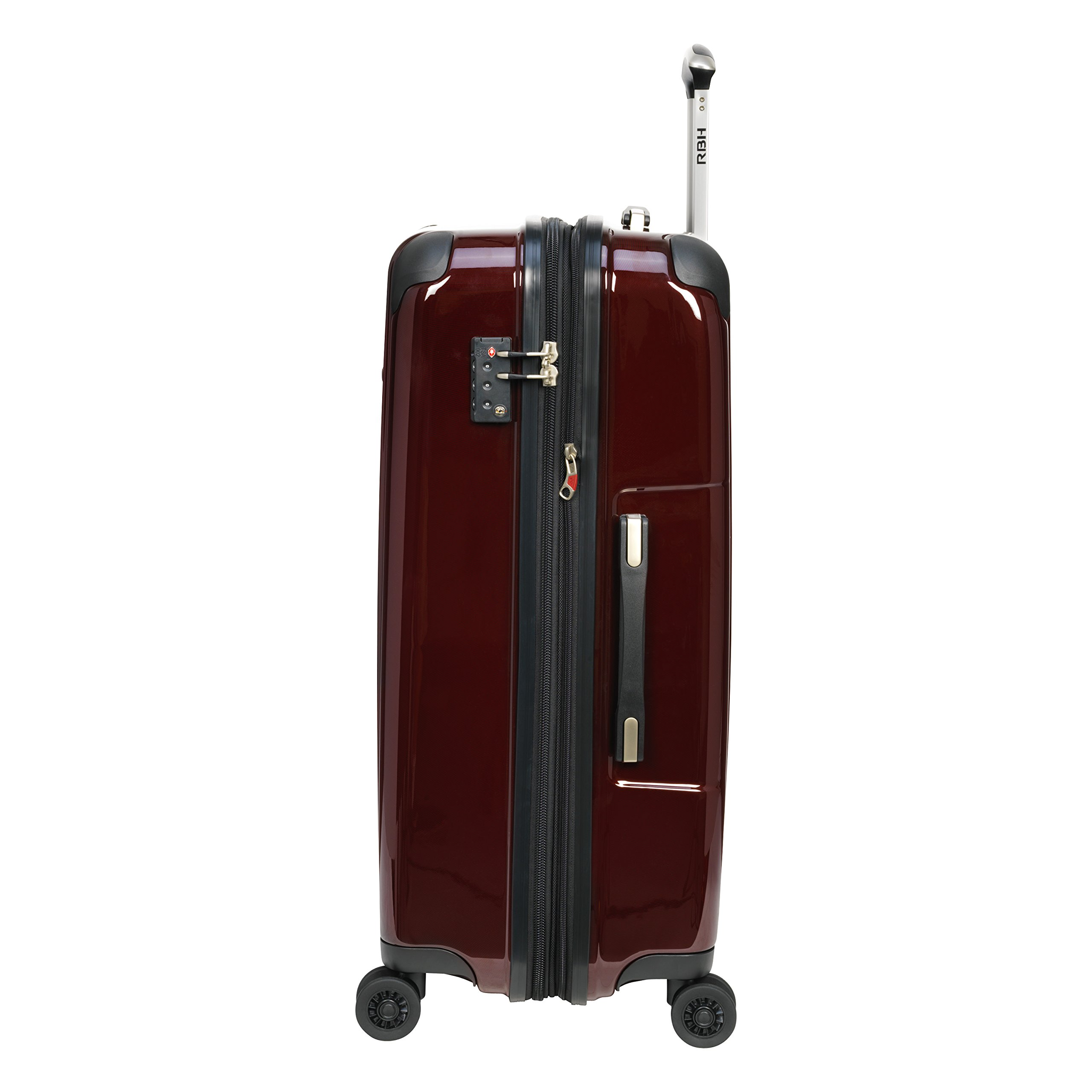 Ricardo Beverly Hills Luggage Rodeo Drive 29-Inch 4-Wheel Expandable Upright, Black Cherry, One Size by Ricardo Beverly Hills (Image #6)