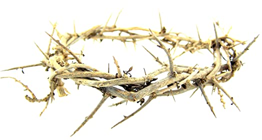 Religious hand made 6 inch crown thorns easter lent cross accent religious hand made 6 inch crown thorns easter lent cross accent by religious gifts negle Image collections