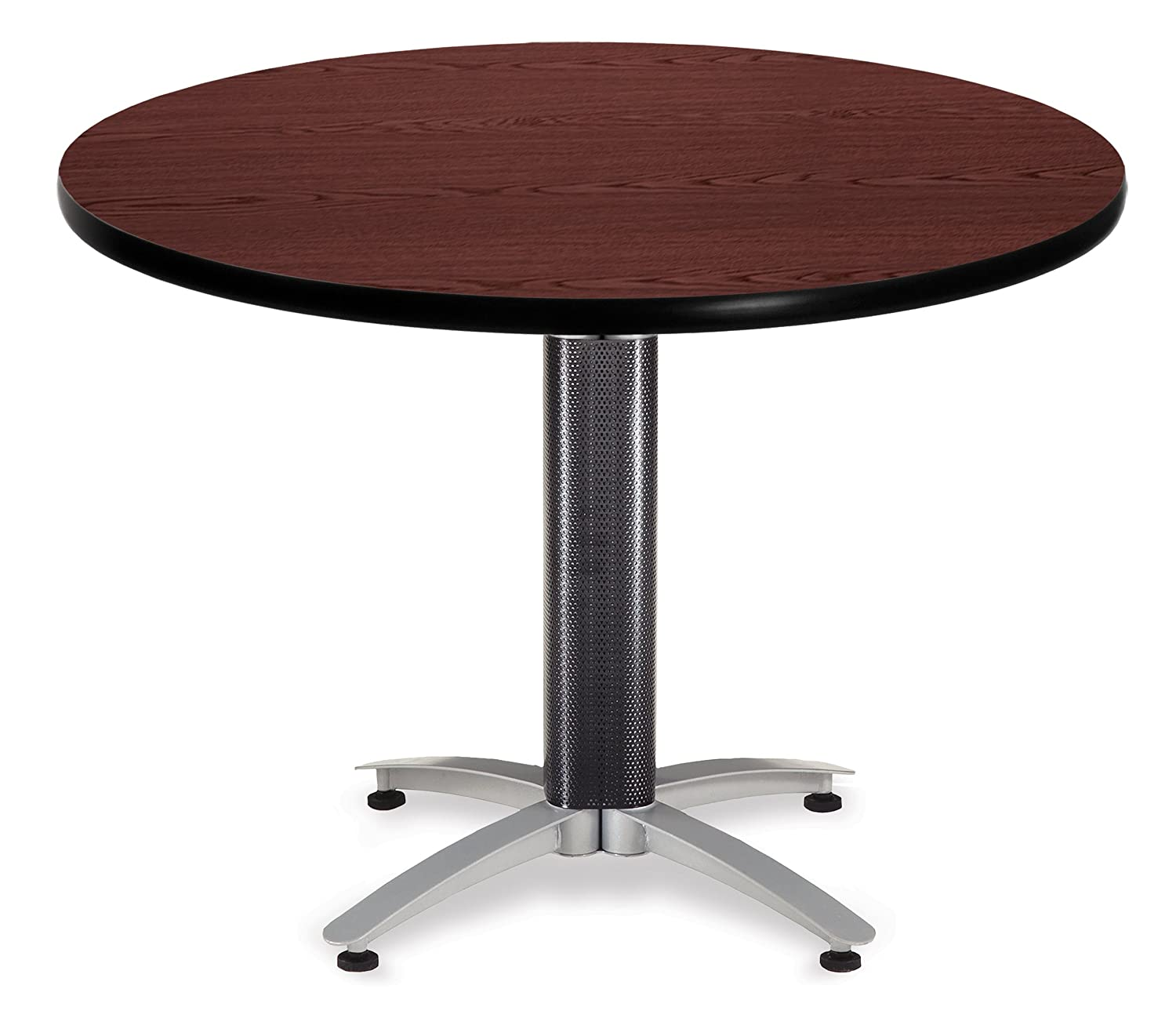 Adjustable Height Round Table.Amazon Com Ofm At42rd Mhgy Endure Series Round Table Adjustable