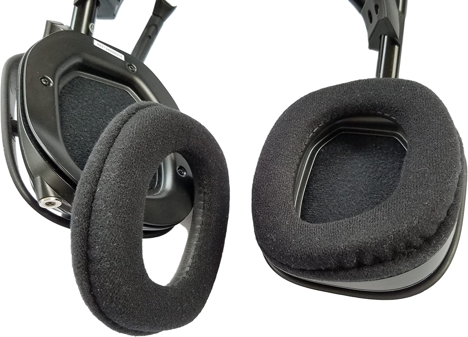 for Astro A40 Gaming Headset by ienza Not Compatible with Astro A40 TR 2 Pack // 1 Pair Replacement Ear Pads // Ear Cushions