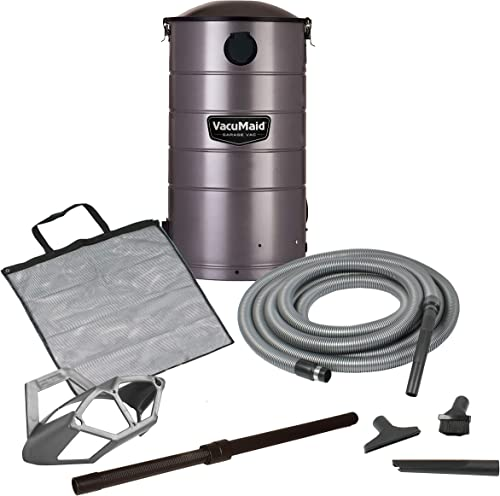VacuMaid GV50 Wall Mounted Garage and Car Vacuum