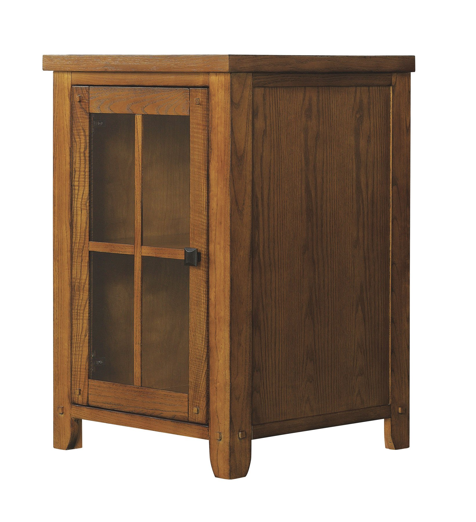 Tresanti Dakota Lower Storage Cabinet, Premium Oak