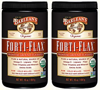 product image for Barlean's, Organic Forti-Flax, Premium Ground Flaxseed, 16 oz (454 g) - 2pc