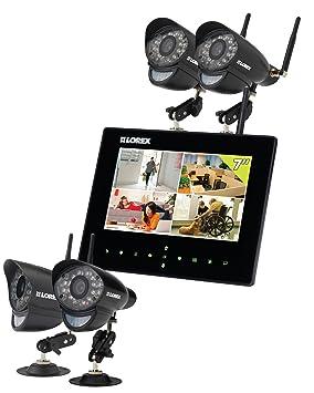 Lorex LW2734B Inalámbrico 4channels - Kit de videovigilancia (Inalámbrico, Bala, Wi-Fi