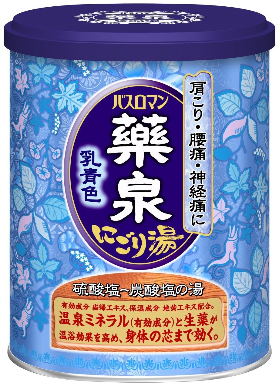 Amazon.com : Yakusen Bath Roman \'\'Muddy White\'\' Japanese Bath Salts ...