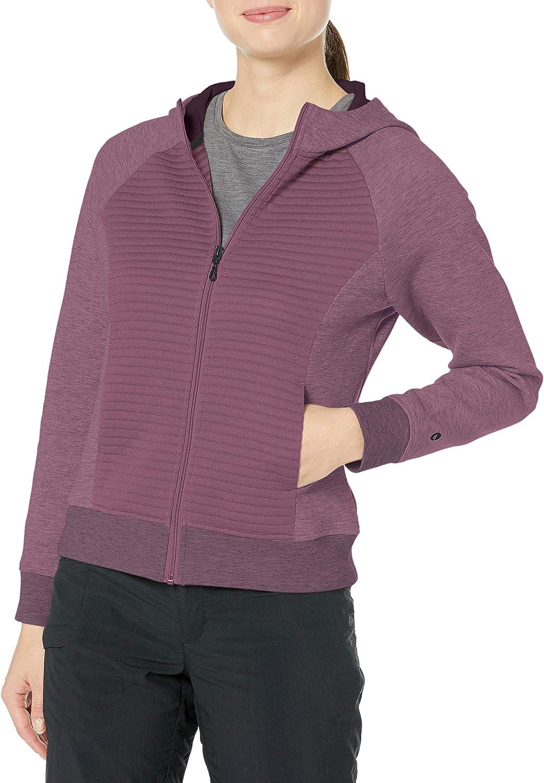 Prune Purple X-Small Hi-Tec Womens Campbell Zip Hoodie