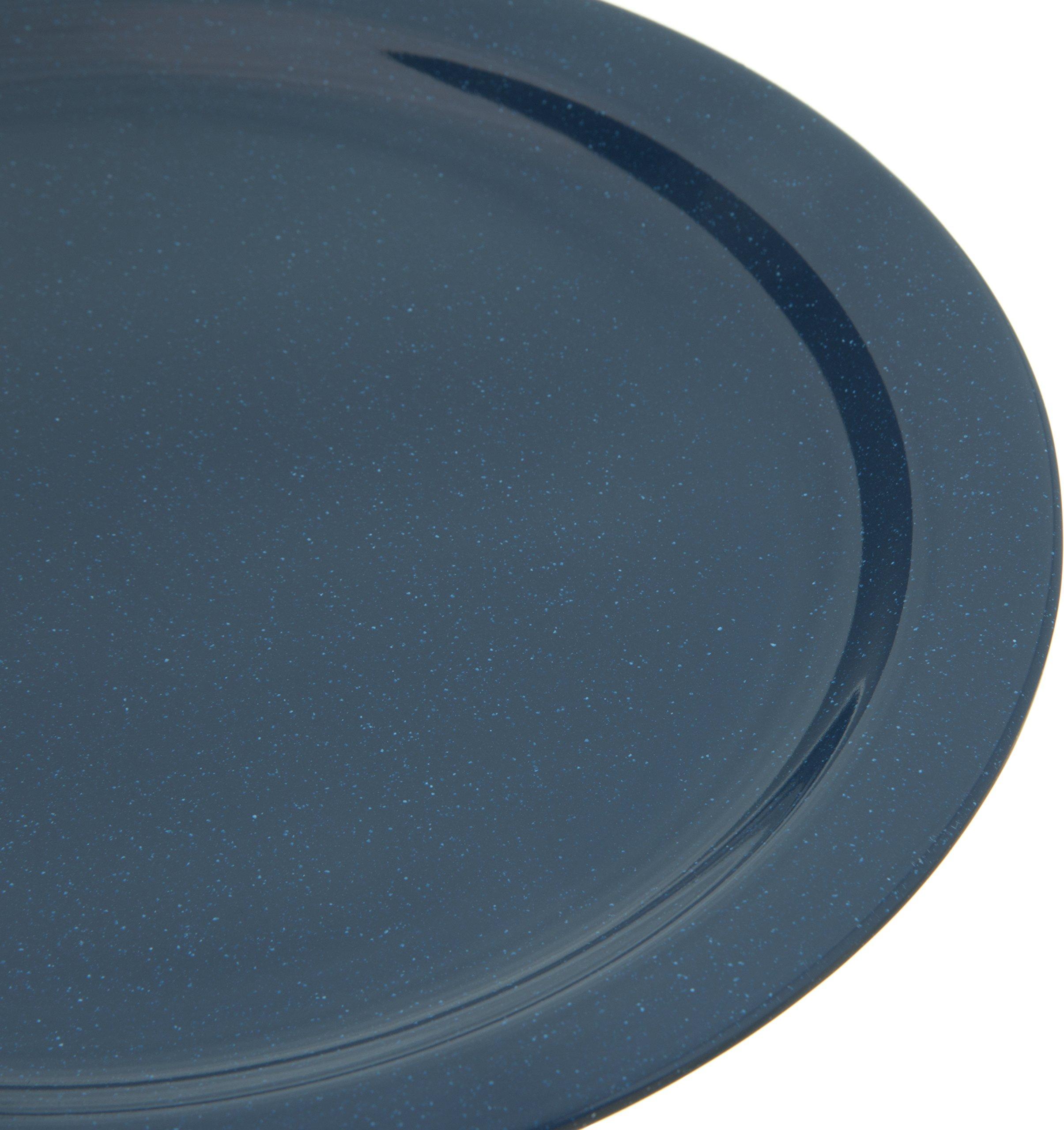 Carlisle 4350035 Dallas Ware Melamine Dinner Plate, 10.20'' Dia. x 0.84'' H, Cafe Blue (Case of 48) by Carlisle (Image #4)