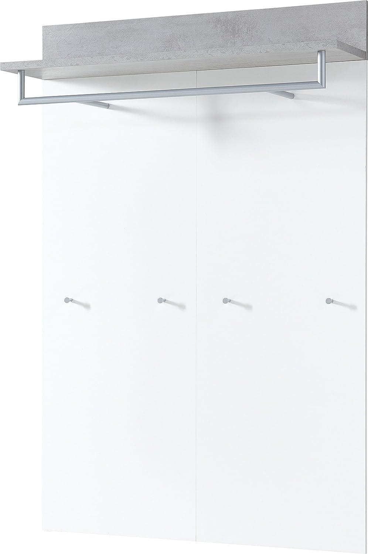 Germania 3773gw-topix Pannello da Parete, Legno, Bianco/calcestruzzo Look, Metri, 29x 96x 147cm Germania XTW3U 3773-531